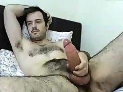 Str8 wild dad on bed