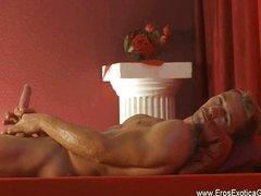 Newest gay erotic self massage