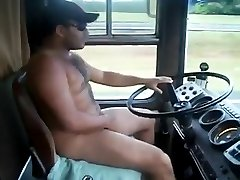 Naked Bear Trucker!
