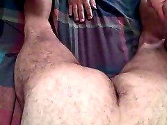 Bear bareback cumming