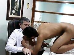 Daddy Bareback Fucks Asian Boy Joshua