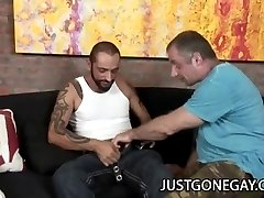 Tattooed Stud Fucks Bear