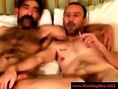 Smoking hairy bears fuck tight ass