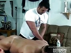 Muscle gay men massage