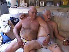 Gay old naked