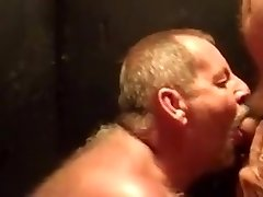 Daddy bear deep throats cock 5