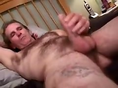 Fabulous male in exotic oldy, str8 gay bang-out pin