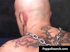 Kinky muscled dude getting slammed part1