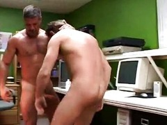 Ben Archer fucks in the office