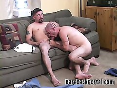 Hardcore mature bear scene