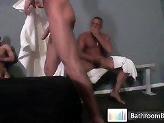 Gavinwaters in hot bathroom tearing up part2