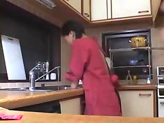 Brother Wife Grabbed For Ass In Kitchen