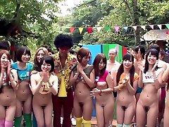 Igre ayaka Tomoda & Hitomi Kitagawa u Эрито seks-kamp Dio 1 - TeensOfTokyo