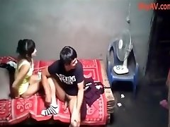Školska College Party Kineski Seks