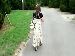 Knocked Up Japanese Sweetheart Has to Fuck  Hobos