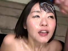Japanese mass ejaculation queen