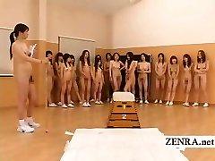 Nūdistu Japāna futanari dickgirls un milf sporta skolotājs