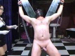 mimosa1 asain Dominatrix milks her slave