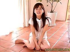 Japāņu pusaudžu pussylicked pirms sejas
