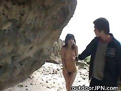 Super karšta Japonijos babes daro keistus lytis