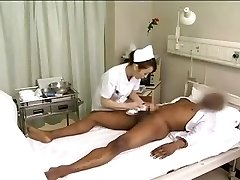 Asian nurses drain black manmeat