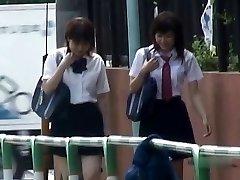 ژاپنی, شورتی, پایین خیابان - دانش آموزان Pt 2 سانتی متر