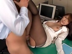Extraordinaire Japanese slut Ria Horisaki in Best Asslicking, Stockings JAV scene