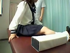 Perfect Jap slut likes a kinky rubdown in hidden cam video
