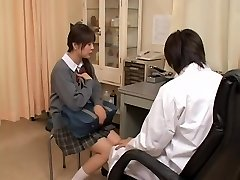 Real gynecology sex video with asian slut examined by kinky doctor