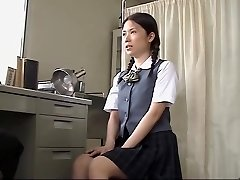 Japanese biotch fucked hard by her doctor in medical sex video