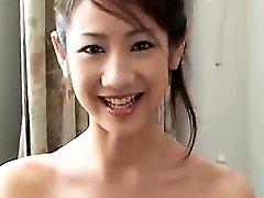 sexy chinese vriendin pijpen en hard