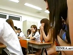 Naked in school Japan nudist schoolgirl oral fucky-fucky party