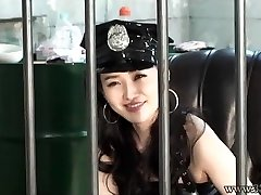 Japanese Female Domination Prison Guard Strapon