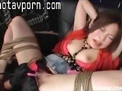 Asiatische Eltern Machen Einen Teen Orgasmus