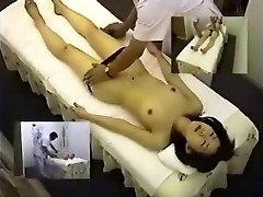 Κρυφή Κάμερα Ασιατικά Μασάζ Αυνανίζονται Νέους Ιάπωνες Έφηβος Ασθενής