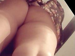 Boso Upskirt Fuckin Hot Bitch in TBack sarap ng pwet