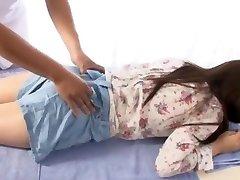 crazy mergina iš japonijos yuina kojima, šilčiausias pirštais, masažas jav scenos