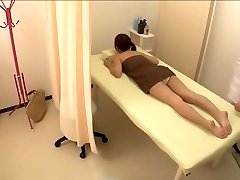 Cute petite Jap boinked in hot spy webcam massage video