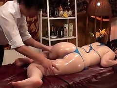 Slimming Massage for Chesty Japanese Wives - 2