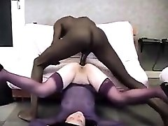 Japanese Granny Fucked In The Culo By A BBC