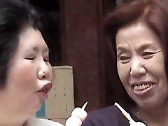 는 사치 미치코-아시아 레즈비언 할머니