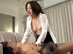 Great Japanese dame in Wild Cumshots, Blowjob/Fera JAV video unique