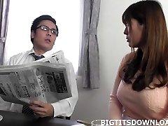 Skaista japāņu ar big tits