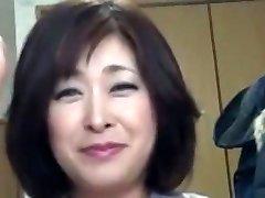 일본어 통통한 성숙한 발행 Sayo 아카기 51years