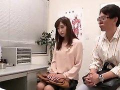 japansk par kommer til å fertilitetsklinikk