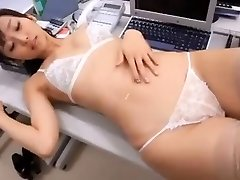 softcore japanese secretary lingerie stocking tease