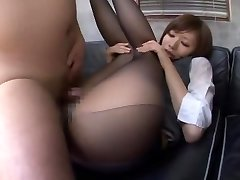 Exotic Japanese girl Yuria Shima in Greatest Couple, Office JAV movie