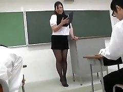 유키 아스카 섹시 일본어 교사 1