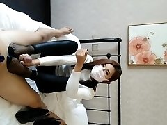 Chinese baoer footjob hand job compilation (part one)