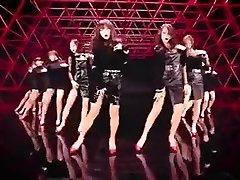 scorching Korean girls dance softcore